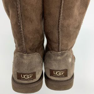 Brown Uggs. Sz. 8